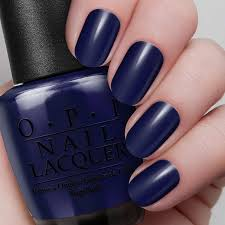 light my sapphire nail lacquer opi