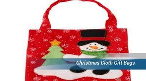 cloth gift bags christmas cloth gift bags