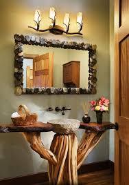 Rustic Bathroom Mirror - best 25 rustic bathroom mirrors ideas on pinterest pallet