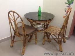Bamboo Dining Table Set Bamboo Dining Table Set For Sale Table With 4 Chairs All