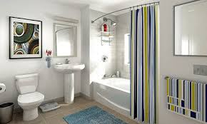 Bathroom Design Online by Modern Interior Design With Stripes Creating Energetic Mood