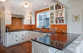 orange and white kitchen ideas kitchen backsplash ideas a splattering of the most popular colors