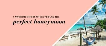 canadian wedding registry awesome infographics to help plan the honeymoon
