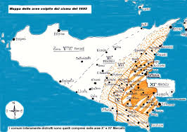 Map Of Pompeii Italy by 1693 Sicily Earthquake Wikipedia