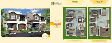 Duplex Plan Villa In Sarjapur Residential Properties In Bangalore