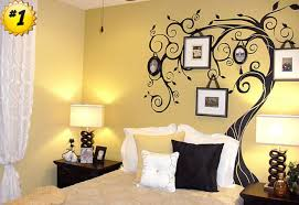 Bedroom Wall Ideas Bedroom Large Bedroom Wall Decor Romantic Vinyl Decor Piano