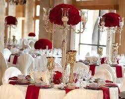 red and white table decorations for a wedding red and silver wedding table decorations red white and silver
