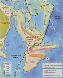 Plate Boundaries Map Zealandia U0027 New Continent On Earth Is Sitting Off Australia U0027s