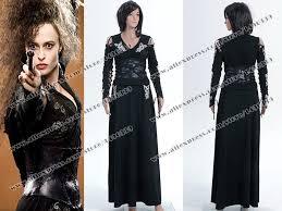 Bellatrix Halloween Costume Harry Potter Cosplay Costume Bellatrix Lestrange Stretchable