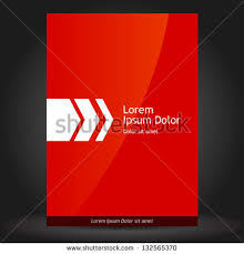 presentation cover page design template free vector download