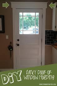 Diy Molding Make It Monday Diy Fancy Door Or Window Molding Fit Mama Real Food