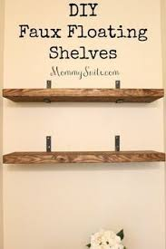 How To Build Wooden Shelf Supports by Best 25 Shelf Brackets Ideas On Pinterest Wood Shelf Shelves