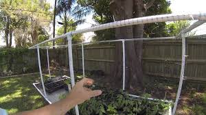 a garden hack how to make your bird netting glide stoney acres a