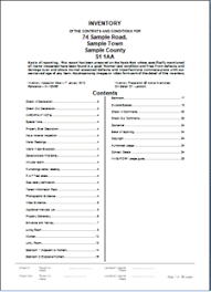 check out report template residential property letting inventory reporting products