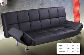 bica black sofa bed by at home usa