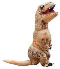 Halloween Animal Costumes by Cosplay Inflatable Dinosaur Costume Fan Operated Kids