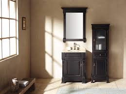 black high gloss finish wooden bath vanity with drawers and open