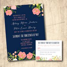 navy wedding invitations coral and navy wedding invitation wwwetsyshop navy blue and coral
