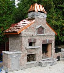Build Brick Oven Backyard by Outside Patio Cooking Complex Consisting Of Brick Oven Fire Open