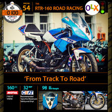 tvs motocross bikes bike 54 tvs road racing u2013 from track to road u0027olx and xbhp