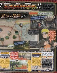 Naruto World Map by Naruto Storm 4 Latest V Jump Scans Details Ns4 U0027s Ninja World
