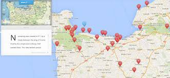 D Day Map Heritage Tours Ddayguidedtours
