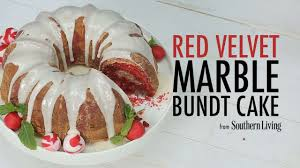 red velvet marble bundt cake recipe myrecipes