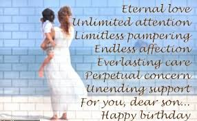 birthday quotes for son best birthday message to son