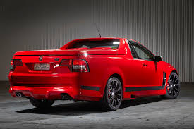 New Chevrolet El Camino Hsv Sv Black Edition Maloo Clubsport And Clubsport Tourer