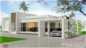 modern single house plans contemporary single storied luxury home kerala design floor house
