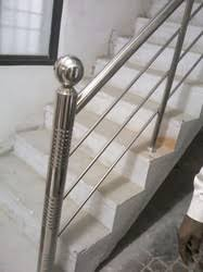 Stainless Steel Banister Stainless Steel Hand Rail Manufacturer From Chennai