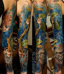colorful nature sleeve venice designs