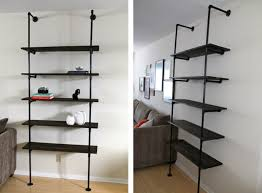 Industrial Bookcase Diy Industrial Shelves And Racks To Make For Your Home The Perfect Diy