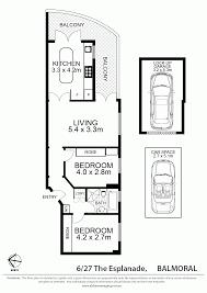 Balmoral Floor Plan 6 27 The Esplanade Mosman Nsw 2088 Sold Realestateview