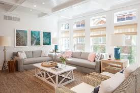 Slipcovered Loveseat Gray Slipcovered Sofas With Pink Pillows Transitional Living Room