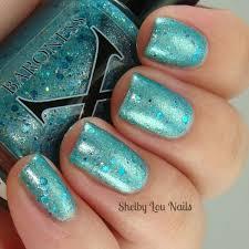 glitter nail polish baroness x