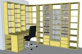 biblioth ue bureau design d licieux bureau biblioth que ikea meuble bibliotheque