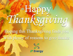 happy thanksgiving in espanol jp energy linkedin