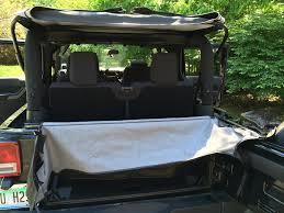 jeep soft top open smittybilt soft top storage boot