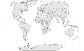 World Map Simple Vector by Free Vector World Maps