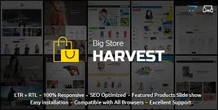 oc harvest opencart responsive theme nulledteam underground