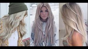 light ash blonde hair color ideas youtube
