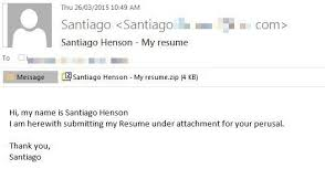 email samples for sending resume how to send a resume via