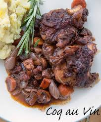 classical cuisine coq au vin for two recipe a chef dennis