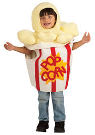 Funny Kids Costumes Girls Boys Funny Halloween Costume by Toddler Popcorn Costume