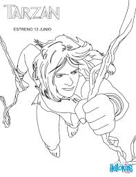 tarzan coloring pages 26 free disney printables for kids to