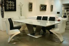 Best Dining Table Design Furniture Trendy Ultra Modern White Marble Top Dining Table