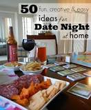 Image result for date night ideas at home