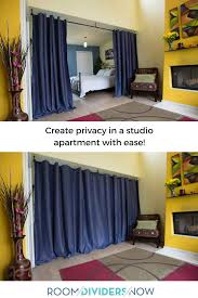 create privacy in any size studio apartment with help from room