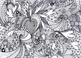 pattern coloring pages coloring love